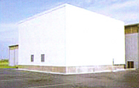 Outdoor Refrigerated Warehouse