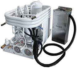 Marine Water-cooled Refrigeration/Freezer Hermetic Condenser Unit