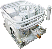 Marine Water-cooled Refrigeration/Freezer Semi-hermetic Condenser Unit